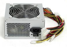 Блок питания LinkWorld ATX 400W LW2-400W 24 pin, 80mm fan, 3*SATA, power cord
